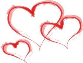 valentines- red